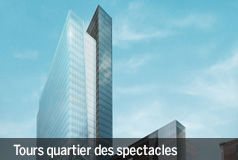 Tours quartier des spectacles