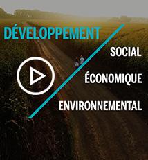 Vidéo plan de développement durable