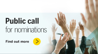 Public call for nomminations
