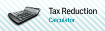 Tax reduction calculator