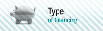 Type of financing