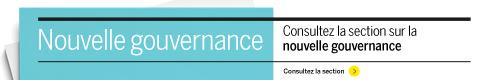 Consultez la nouvelle section Gouvernance du 6 février 2014
