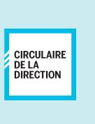 Circulaire de la direction
