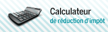 Calculateur de réduction d'impôt