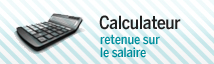 Calculateur retenue sur le salaire