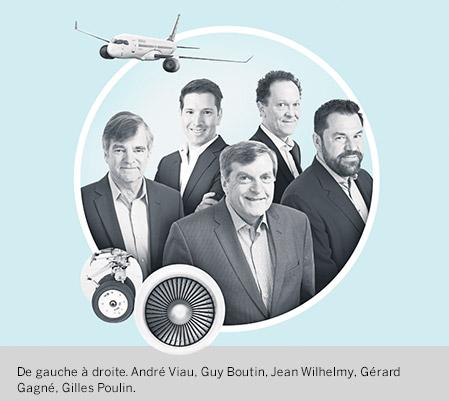 Photo du groupe Aérospatiale du Fonds de solidarité FTQ