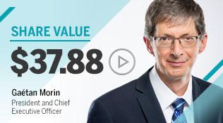 Share value 5 juillet 2017