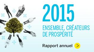 Rapport annuel et de développement durable 2015